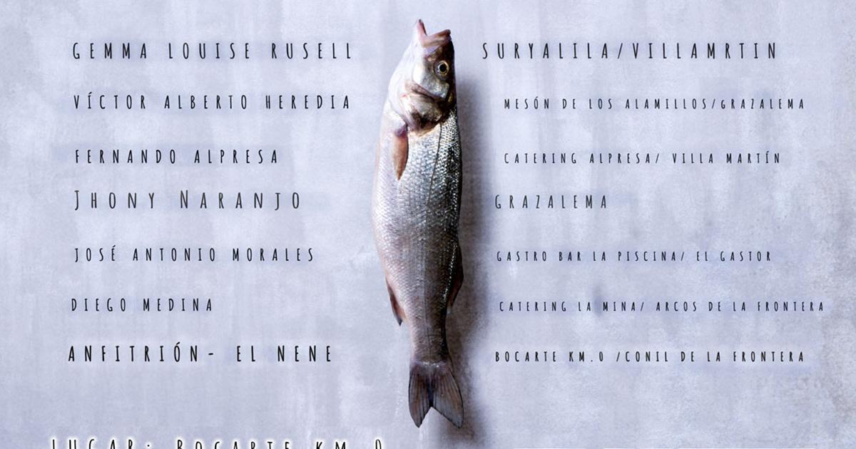 Cita con los mejores chefs de la sierra de Cádiz en Bocarte KM0